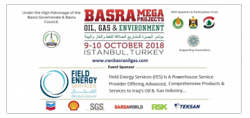 Field Energy Services (FES) joins the Basra Mega Projects conference as a supporting Sponsor.